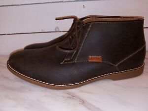 Men's R2 brown Jack Chukka Boots Size 9.5