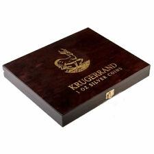 Wooden Case Krugerrand 1 Oz Display 20 Coins Holder Box