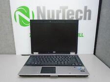 "HP EliteBook 6930p 14"" C2D-P8400 2.26GHz 4GB/320GB Webcam DVDRW Laptop + AC"