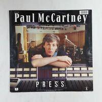 "PAUL MCCARTNEY Press 2013426 Parlophone 12"" Vinyl VG++ Cover VG+ Italy"