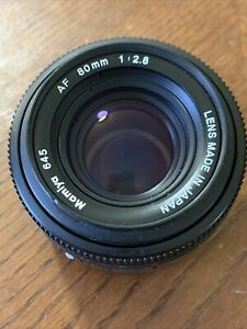 Mamiya 645 AFD ii iii AF 80mm f/2.8 Lens With Front Cap