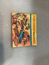 1970 MATCHBOX COLLECTOR'S CATALOG USA EDITION