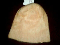Ladies Fabulous Topshop Ultra Furry Cream Beanie Hat Daughter's Gift BNWT