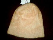 Ladies Fabulous Topshop Ultra Furry Cream Beanie Hat Daughter's Gift BNWT