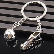 Cute Mini Sports Football Shoe Football Soccer Shape Key Chain Keyring Keyfob