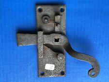 (n°2) clef / verrou / loquet / targette de porte / SERRURE FORGÉE  XVIIIe