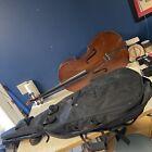 Antonius VC-160 4/4 Full Size Student Cello W/ Case 30in Very Good Condition