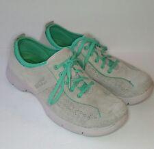 Dansko Elise Womens 41 US10.5 Neutral Gray Oxford Sneakers Walking Comfort EUC