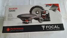 "FOCAL ACCESS 165AS 2-Way SEPARATE KIT SPEAKERS 6.5"" COMPONENT NEW best deal"