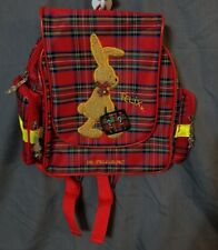 Die Spiegelburg Felix Rabbit Germany Kleiner Rucksack Plaid Backpack New