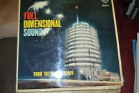 FULL DIMENSIONAL SOUND    FROM THE CAPITOL TOWER   LP   CAPITOL RECORDS LGT 6175
