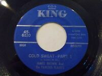 James Brown Cold Sweat Part I & II 45 1967 King Vinyl Record