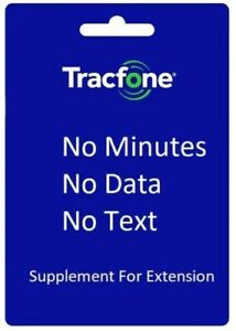 TracFone Service Extension Supplement