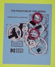 1990 Data East Phantom of the Opera pinball rubber ring kit