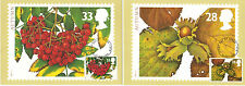 """1993  The FOUR SEASONS """"AUTUMN""""  First day of Issue PHQ Cards 155 a -e"""