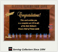 1996 Select AFL Classic Metal Future Hall Of Fame Redemption Card Set (10)--108