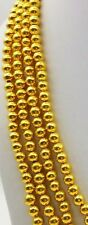20 PEACES HANDMADE 22 Kt ANTIQUE STYLE GOLD BEADS 5 MM USED JEWELRY CREATION