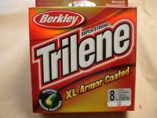 BERKLEY TRILENE XL ARMOR COATED 8LB 220 YARDS CLEAR COLOR NEW