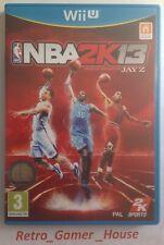NBA 2K13 WII U Game