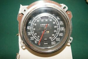 Corvette 75-77 speedometer, used but looks and works perfect