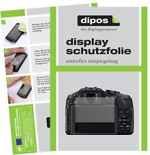 6x Panasonic Lumix DMC-G5KEG-K Schutzfolie matt Displayschutzfolie Folie Display