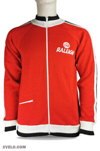 RALEIGH wool long sleeve jersey, track, training jumper, new, never worn XXL