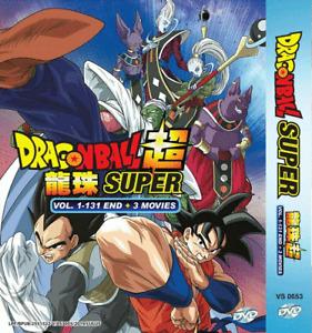 ANIME DVD DRAGON BALL SUPER VOL.1-131 END ~ENGLISH DUBBED~ + Free Shipping