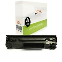 4x Cartridge Replaces Canon 728 CRG728 CRG-728