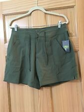 """New Athletic Works Women Shorts 7"""" inseam Green S,M"""