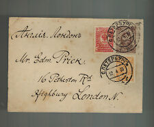 1909 Russia cover to London England