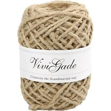 Natural Hemp Twine - Cord String Ball - 30m Roll - Craft Home Gift Wrap Tie Tag