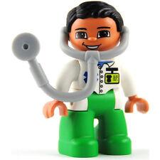 LEGO® Duplo Figur Arzt Doctor mit Zubehör Stethoskop NEU