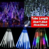 30/50CM LED Meteor Shower Rain Lights Waterproof Outdoor For Party Wedding Decor