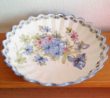 LOVELY BIG ROUND DISH BOWL  Ceramic signed S. MOTTET twentieth century DeCo