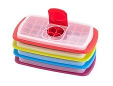 Joie Mini Ice Cube Tray Maker with Lid, Makes 32 Small Ice Cubes
