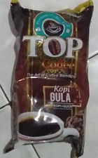 Top Kopi Coffee Plus Sugar Pack (contain 10sachets) Famous Indonesian Coffee