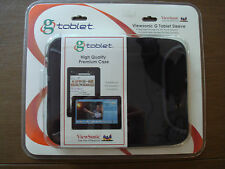 Tablet/ ipad cover cushioned  w/handles sealed NEW in box Viewsonic case travel