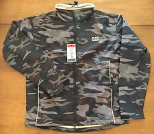 CAT Logo Caterpillar Reflective Camo Jacket - Large