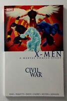 X-Men Civil War Trade Paperback (Marvel 2016 Second Edition First Print VF)
