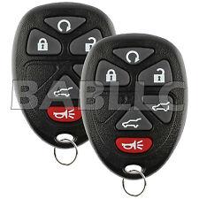for 2007-2014 ESCALADE CADILLAC Keyless Entry Remote Control Car Key Fob(2 PACK)
