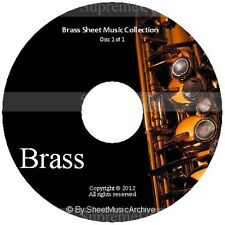 Massive Professional Brass Sheet Music Collection Archive Library on DVD