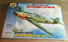 ZVEZDA 4802 - 1/48 - MESSERSCHMITT BF-109 F2 GERMAN FIGHTER - NUOVO