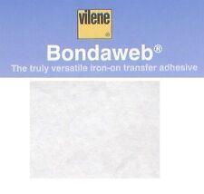 Vilene bondaweb pregunto bajo 45cm 1m vliesofix web fusible Hierro en Pegamento Adhesivo