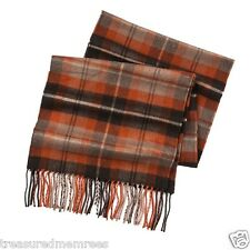 Dockers Acrylic Knit Plaid Scarf  ~ New With Tags MSRP $30.00