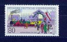 ALEMANIA/RFA WEST GERMANY 1985 MNH SC.1450 Foundation of German railways