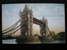 POSTCARD TOWER BRIDGE EARLY 1900 LONDON