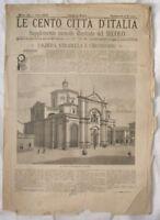1894 CENTO CITTA D'ITALIA VOGHERA STRADELLA 31 INCISION