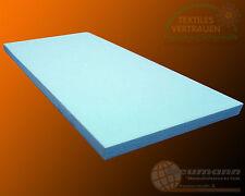 Schaumstoffplatte RG35 200cm x 120cm x 5cm PUR Polster Matratze Schaumstoffmatte