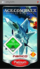 PSP:~ ACE COMBAT X - SKIES OF DECEPTION ~ {COMPLETE} ~ 2nd game freepost