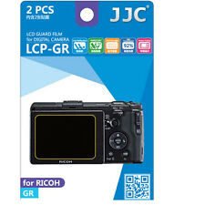 JJC LCP-GR ultra hard polycarbonate LCD Film Screen Protector For Ricoh GR G-R
